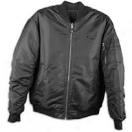 Souhpole Men's Ma1 Reversible Diamond Quilt Jacke