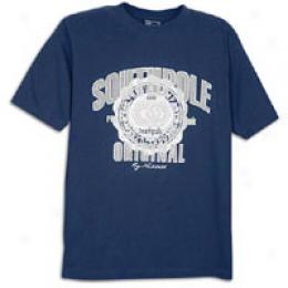 Southpole Men's Metallic Print Tee