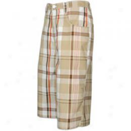 Southpole Men's Plaid Shorts