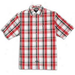 Southpole Men's Plaid Short Sleeve Shirt
