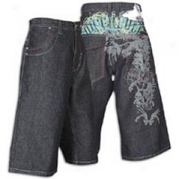 Southpole Men's Rockstar Denim Short