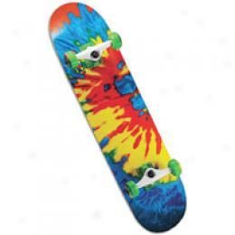 Speed Demon Sour Dye Complete Skateboard
