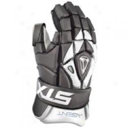 Stx Agent Lacrosse Goalie Gloves - Men's