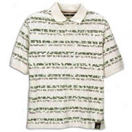 Timberland Men's Polo With Print Overlay