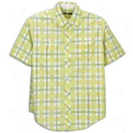 Timberland Men's Printed Plaid Woven Shirt