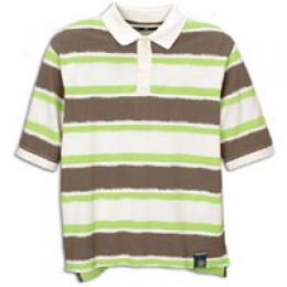 Timberland Men's Water Color Print Polo