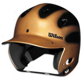Wilson Adjustable Metallic Slick Batting Helmet