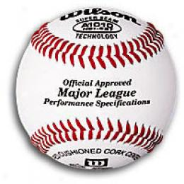 Wilson Major League Baseball W/ Nfhs Impress