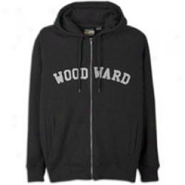 Woodwars Big Kids College Logo Zip Fleece Hoody