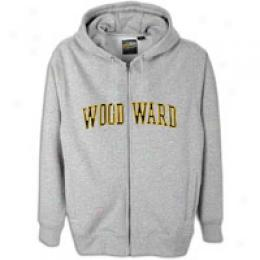 Woodward Big Kids Satin Logo Zip Hoody