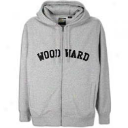 Woodward College Zip-front Fleece Hoody