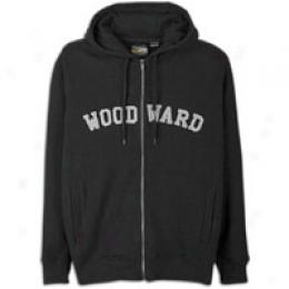 Woodward Men's College Logo Zip Fleece Hoody