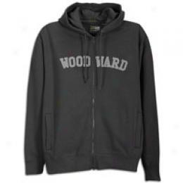 Woodward Men's College Logo Zip Hoody