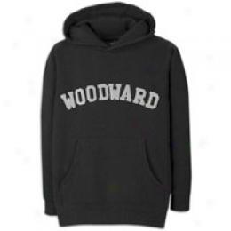 Woodward Men's College Logo Pullover Fleece Hoody