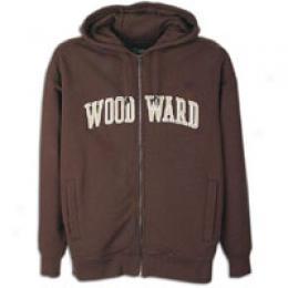 Woodward Men's Satin Logo Zip Hooody