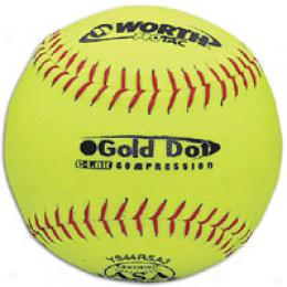 Worth Gold Dot Asa Protac Softball