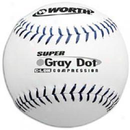 Worth Grey Dot Usssa Practice Softball