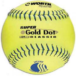 Worth Men's Super Gold Dot Pr oLeather Softball