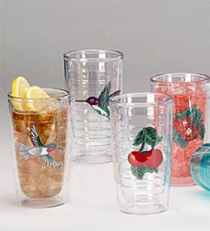 12 Oz. Tumblers, Set Of 4  Fruit Only