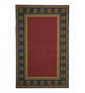 3' X 5' Wool Riverwood Rug  Brown Only