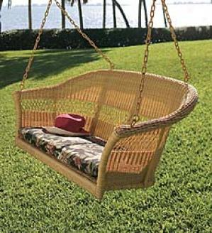 4' Classic Rectangular Swing Cushion  45