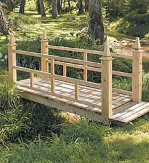 4' English Garden Bridge