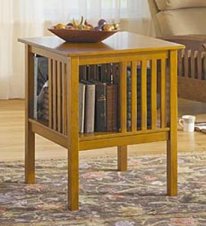 Arts & Crafts Style Encyclopedia Table