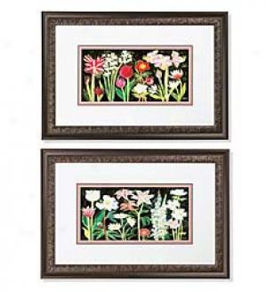 Blooming Prints, Set Of 2