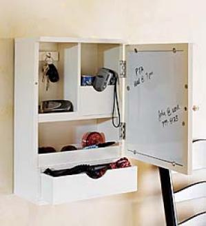 Cabinet And Message Center
