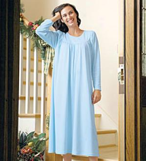 Caida Long Cotton Gown