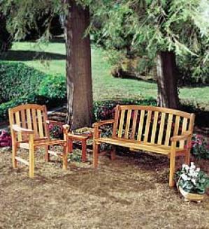 Cedar Gardden Bench