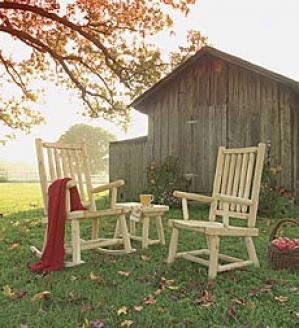 Cedar Hi Bzck Chair