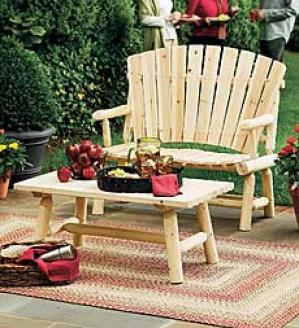 Cedar Highback Seat   24-1/2