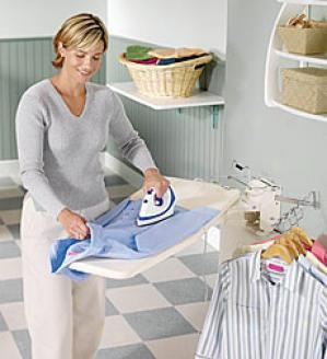 Compwct Ironing Center