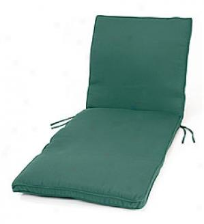 Deluxe Chaise Cushion Two Ssctions, Square Corners With Ties  68