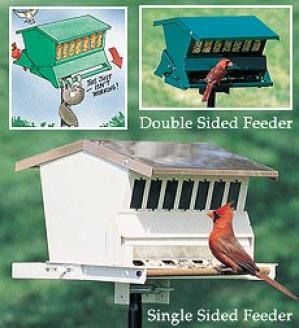 Double-sided Squirrel-proof Feeser
