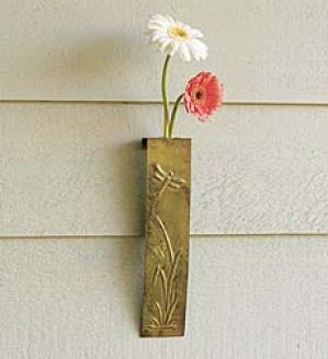 Dragonfly Wall Vase