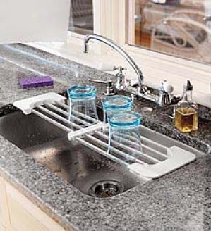 Expanding Sink Rack