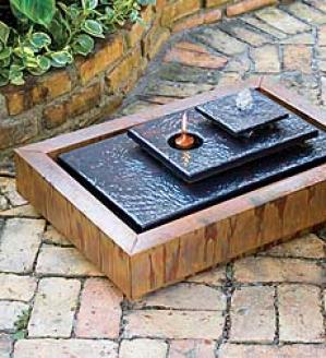 Fire And Water Fountain