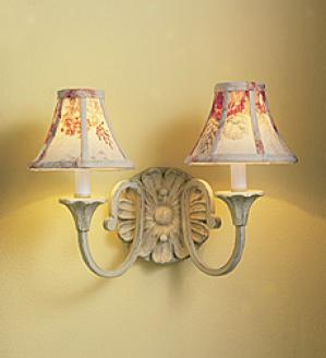 Floral Medallion Sconce