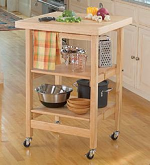 Folding Butcher Block