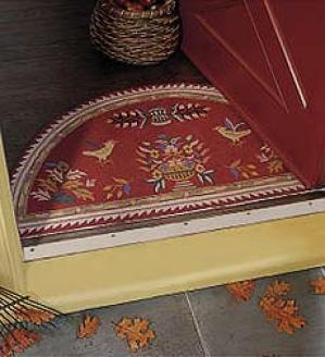 Folk Art Hearth Rug