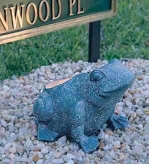 Frog Garden Light