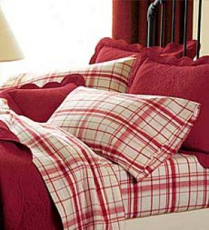 Full Vintage Plaid Flannel Sheets