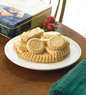 Gift-wrapped Shortbread Assortment