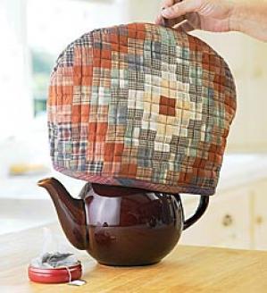 Gift-wrapped Tea Cozy