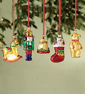 Glass Toy Ornaments
