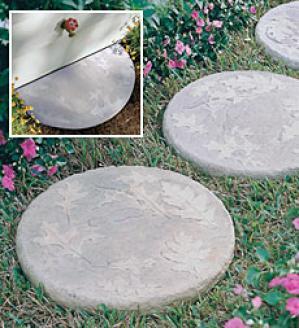 Half-round Stepping Stone