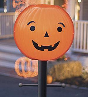 Halloween Lamp Post Cover