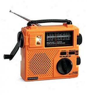 Hand-crank Grrundig Emergency Radio